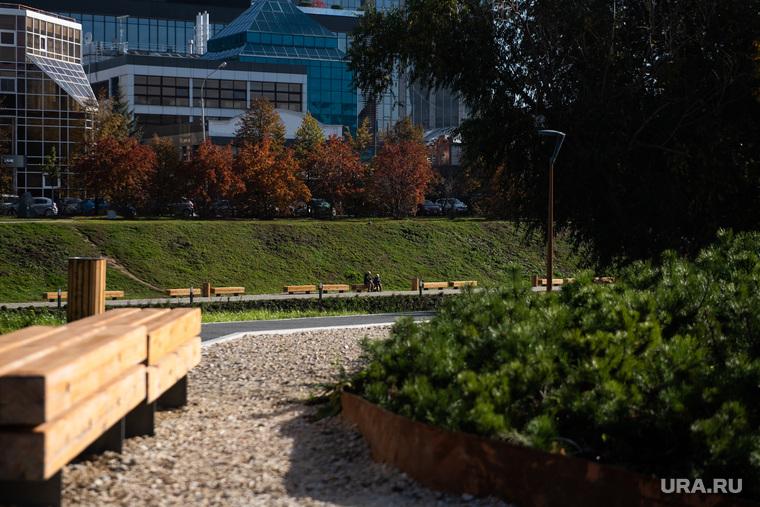 Торжественное открытие благоустроенной набережной реки Исети на участке от улицы Малышева до улицы Куйбышева. Екатеринбург
