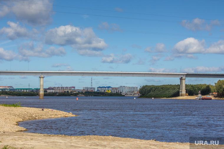Мост через Вах. Излучинск