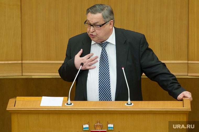 Заседание законодательного собрания СО. Екатеринбург