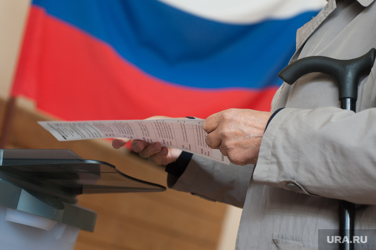 Голосование на выборах в Екатеринбургскую городскую Думу. Екатеринбург
