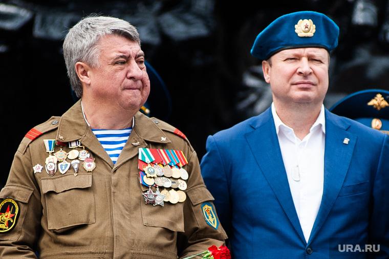 Празднование Дня Воздушно-десантных войск. Екатеринбург