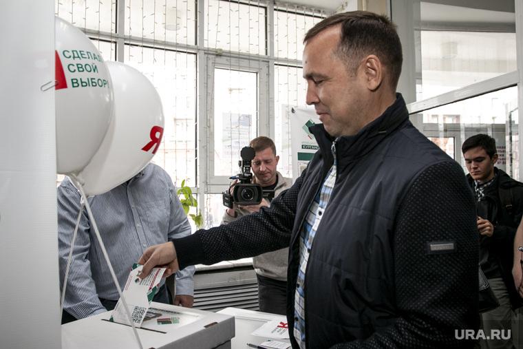Голосование ВРИО Вадима Шумкова. Курган
