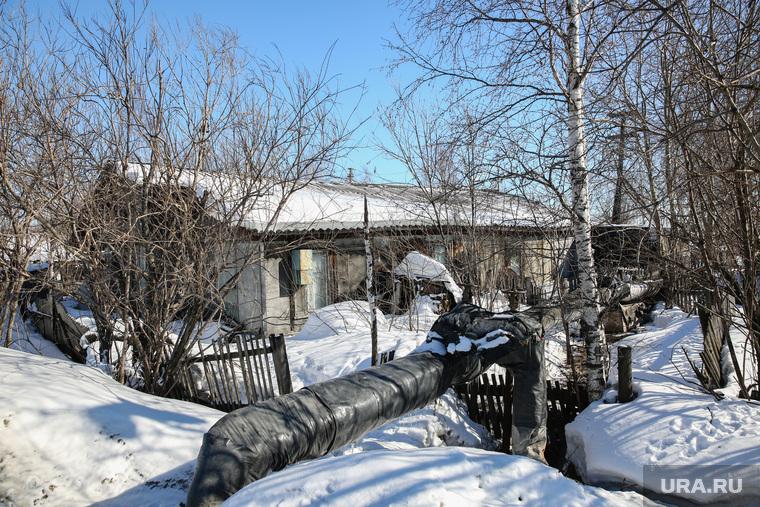 Балки - временное жилье построенное в советское время. Сургут