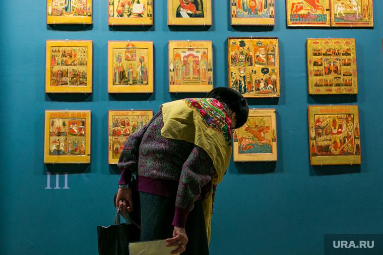 Выставка Невьянской иконы в Музее Русской Иконы. Москва