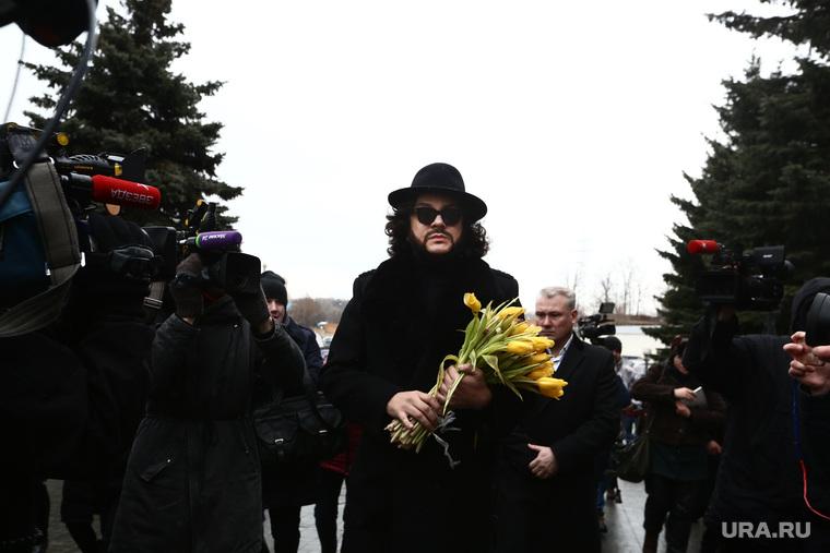 Похороны Юлии Началовой. Москва