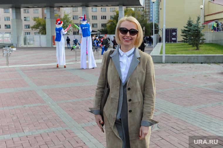 Алексей Текслер на кубке НОВАТЭК по минифутболу. Челябинск