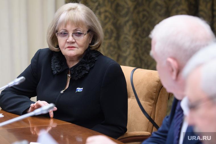 Совещание в полпредстве с представителями законодательных органов власти УрФО. Екатеринбург