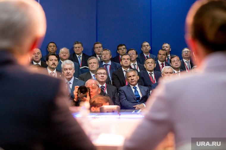 ПМЭФ-2018. Петербургский международный экономический форум 2018. Губернаторская панель. Санкт-Петербург