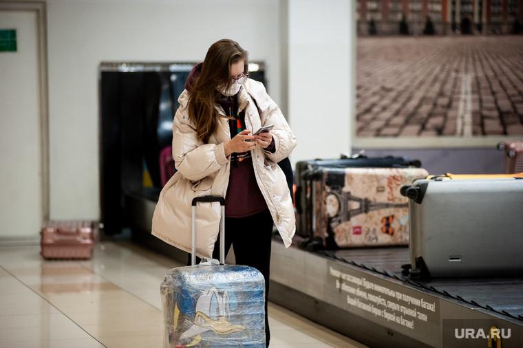 Ситуация в аэропорту Кольцово в связи с эпидемией коронавируса в Китае. Екатеринбург