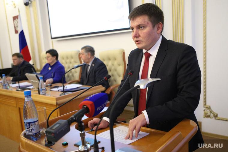 Совместное заседание областных комитетов. Курган
