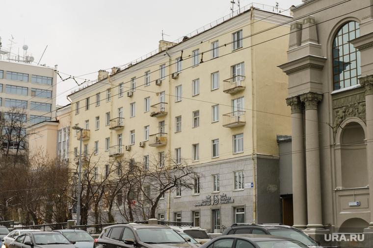 Жилой дом возле филармонии. Екатеринбург