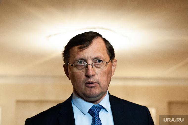 Пресс-подход заместителя губернатора Свердловской области Павла Крекова. Екатеринбург