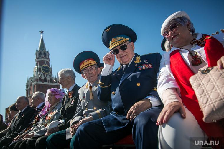 Парад Победы на Красной площади. Москва