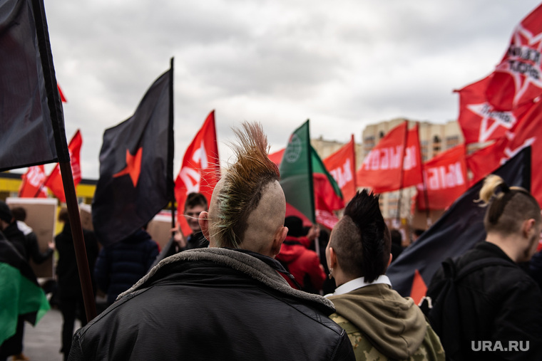 Акция «Антикапитализм. Марш бесов». Екатеринбург
