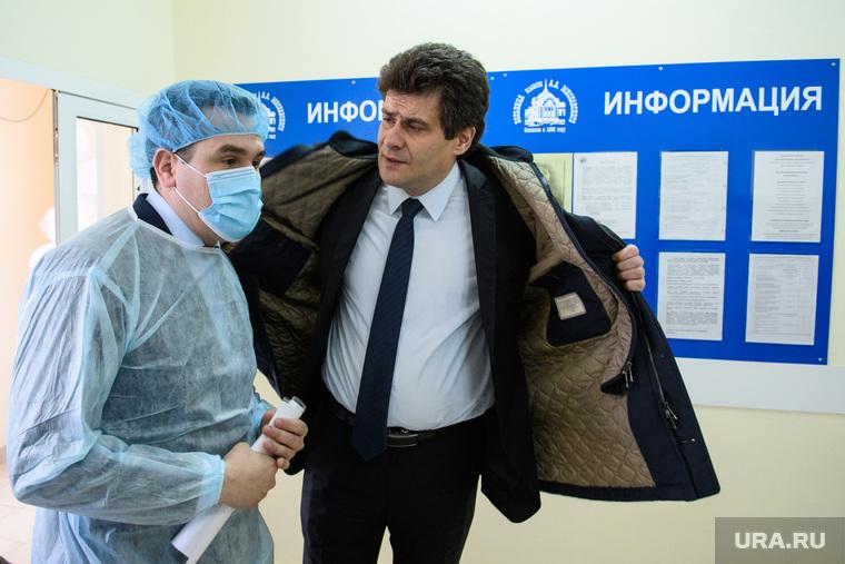 Посещение паллиативного отделения ЦГБ№2. Екатеринбург