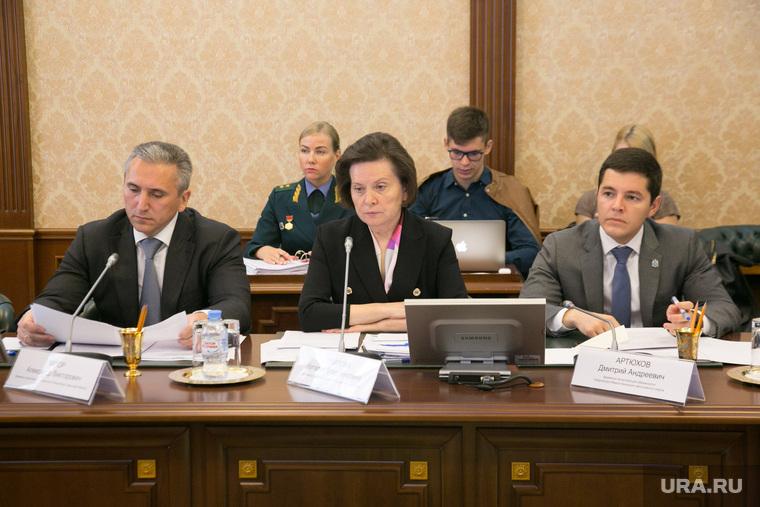 Совещание с министром природных ресурсов Дмитрием Кобылкиным. Тюмень