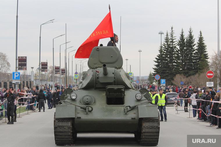 Парад Победы в Верхней Пышме