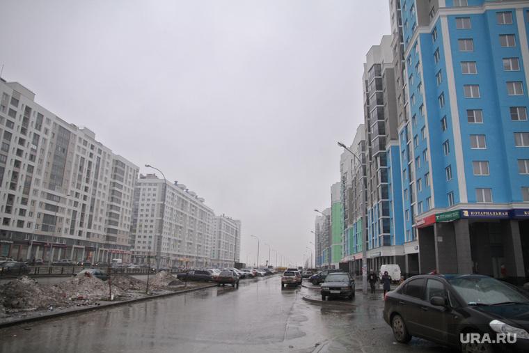 Стройка на Академическом. Екатеринбург