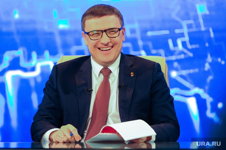 Прямая линия с Алексеем Текслером. Челябинск