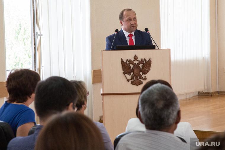 Встреча Александра Моора с депутатами и главами сельских поселений. Тобольск