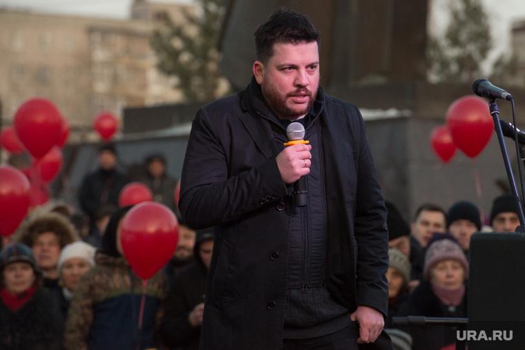 Митинг за сохранение прямых выборов мэра Екатеринбурга