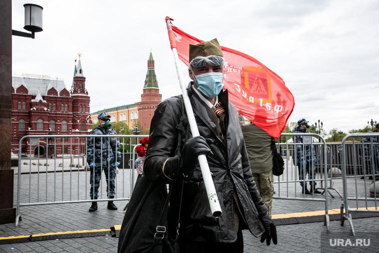 Оцепление Красной Площади 9 мая. Москва