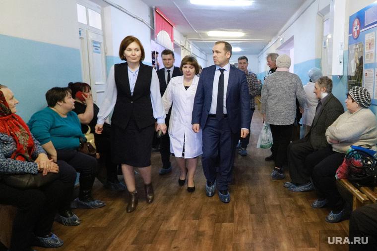 Визит врио губернатора Шумкова Вадима в Шатровский район.