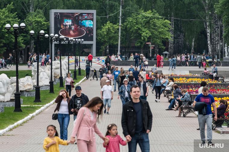 Пятьдесят восьмой день вынужденных выходных из-за ситуации с распространением коронавирусной инфекции CoVID-19. Екатеринбург