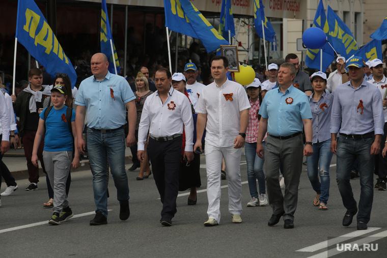 Парад 9 мая . Тюмень