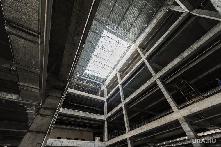 Строительство конгресс-холла Таганай-2020 к саммитам ШОС. Челябинск