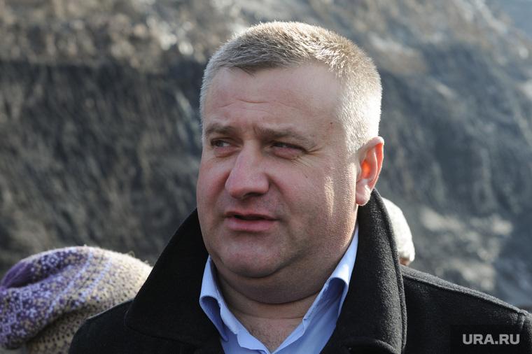 Коркинский угольный разрез. Челябинск.