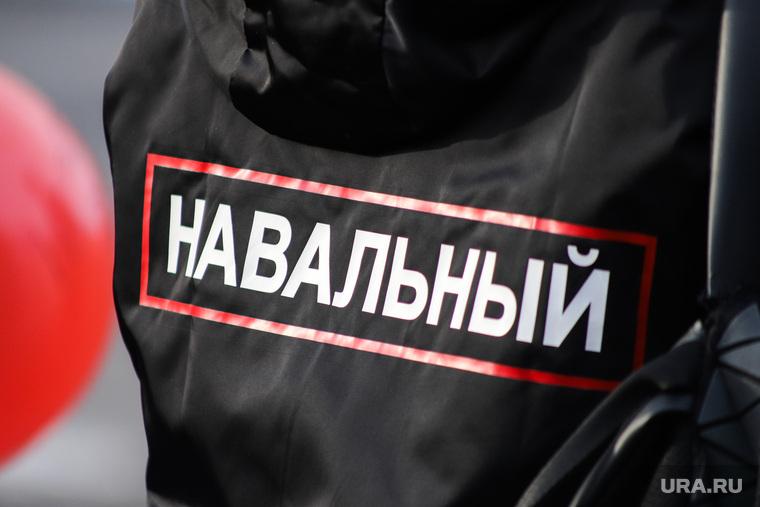 Пикет команды Навального. Курган