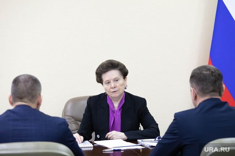 Встреча Комаровой с главами города и района. Сургут