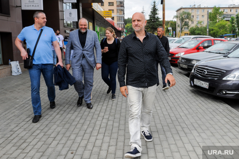 Захар Прилепин на встрече с активистами партии «За правду». Челябинск