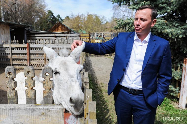 Депутаты городской думы в Челябинском зоопарке. Челябинск