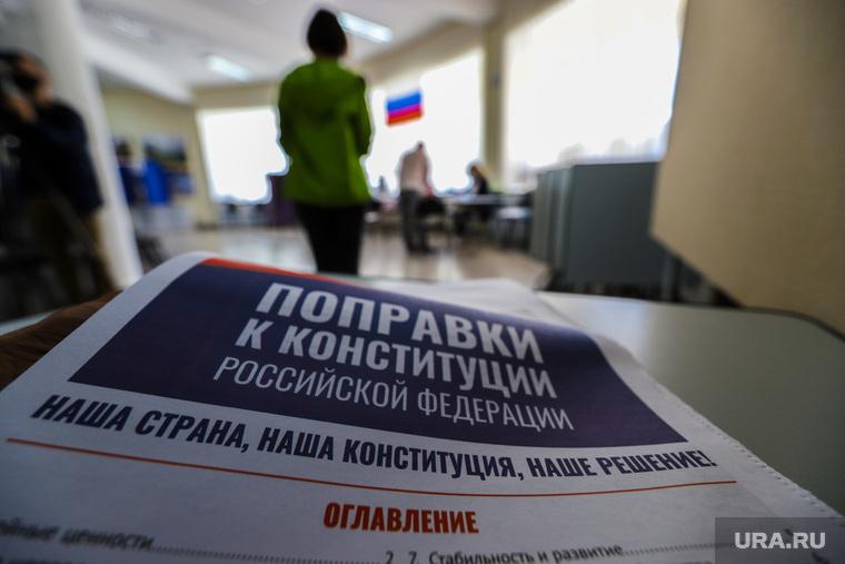 Общероссийское голосование по поправкам в Конституцию России. Курган