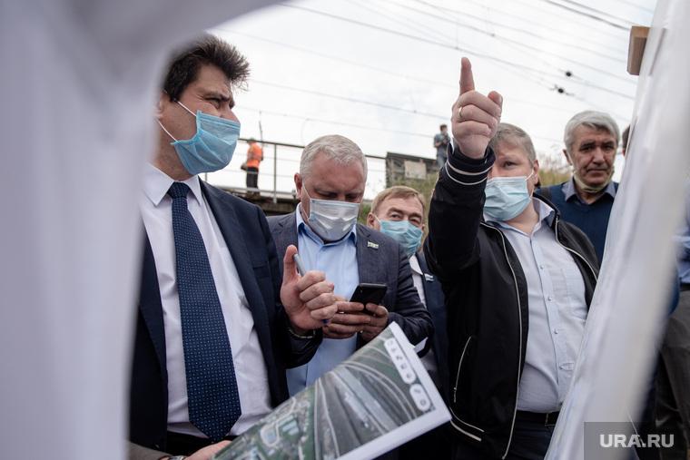 Объезд Александра Высокинского по Железнодорожному району (НЕОБРАБОТАННЫЕ). Екатеринбург
