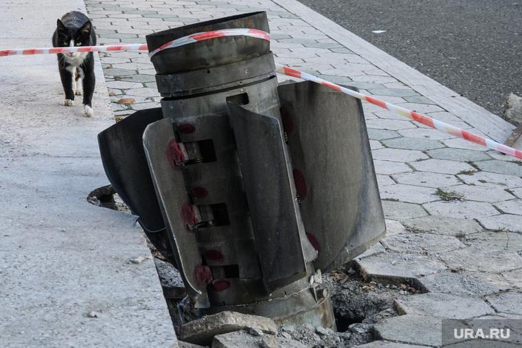 Город Шуши после обстрелов ВС Азербайджана. Нагорный Карабах