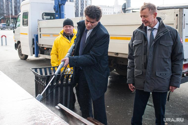 Презентация эксплуатационных возможностей мобильной мойки высокого давления. Екатеринбург