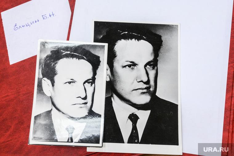 Фотографии первого президента России Бориса Ельцина в архиве Музейно-выставочного комплекса УрФУ. Екатеринбург
