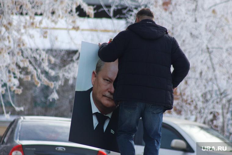 Прощание с бывшим первым замгубернатора Бухтояровым Александром. Курган