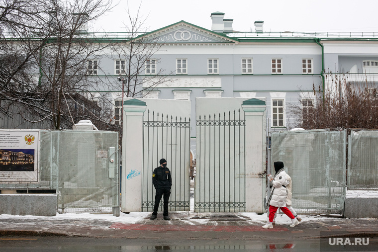 Усадьба Долгоруких-Бобринских по улице Малая Никитская в Москве. Москва