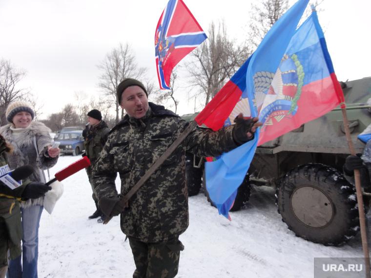 Командир батальона Хулиган Луганск ЛНР Владимир Цвях