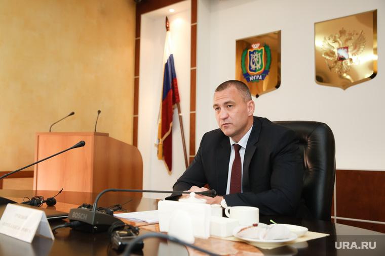 Пресс-чай с главой Сургутского района Андреем Трубецким. Сургут
