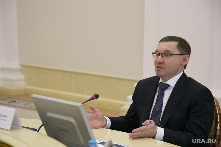 Совещание с министром по строительству Владимиром Якушевым. Тюмень