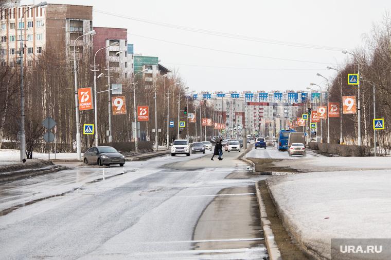 Город во время режима самоизоляции. Сургут