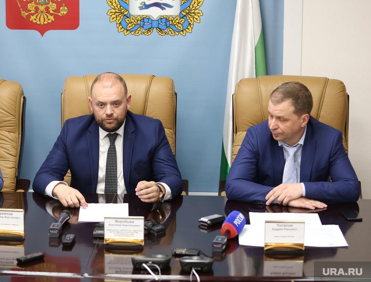 Круглый стол с директором департамента ЖКХ Воробевым Анатолием. Курган