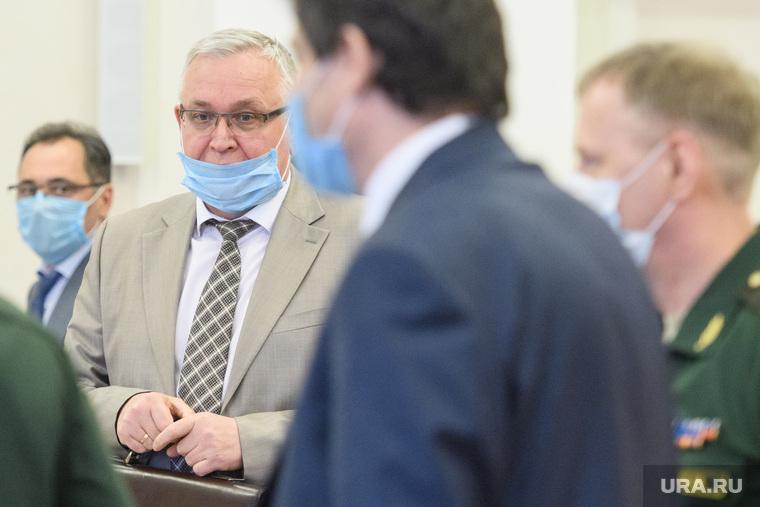 Совещание в полпредстве по параду Победы. Екатеринбург