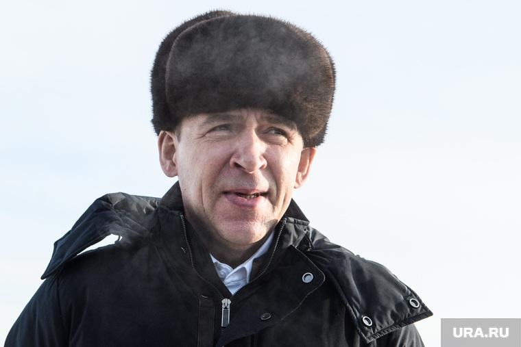 Участок строительства ЕКАД на пересечении с Челябинским трактом. Екатеринбург
