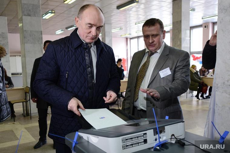 ВЫБОРЫ 2018. День голосования в Челябинске